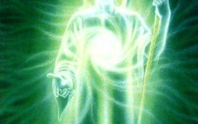 Emerald Green Ray Transmission