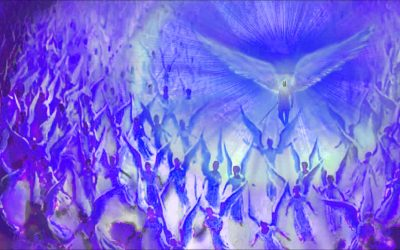Ultra-Violet Angelic Fire Transmission: Dissolving Cords and Lower Energy Interference.
