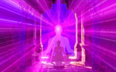 Affirmationen: Ich bin ultra-violettes Engelsfeuer.