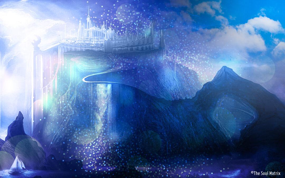 Lemurian Blue Crystal Healing Temple Transmission.